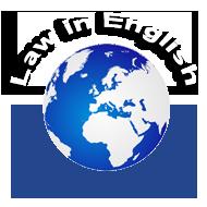 Právo v angličtině   Law in English